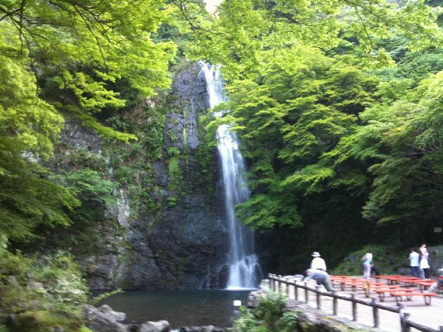 箕面大滝2010.05.22