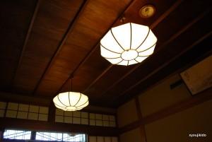 蕎麦屋の天井