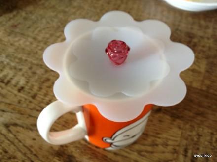 マグカップの蓋シリコン製