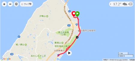 淡路島ランニング