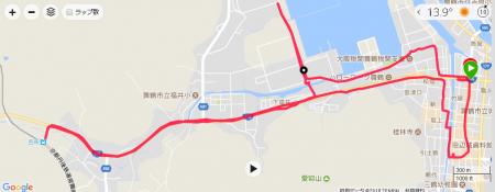 西舞鶴ランニングコース